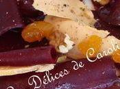 Bettrave foie gras méli mélo