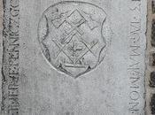 pierre tombale d'un Compagnon tailleur germanique Brno (République Tchèque)