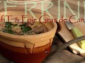 Terrine confit canard foie Gras gelée blanc sauterne) piment d'Espelette
