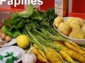 Carottes cumin l'oseille avec purée pommes terre