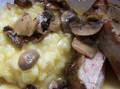 Roti porc champignons Paris