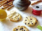 Biscuits pistache chocolat