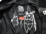 Futura laboratories spray paint mountain jacket