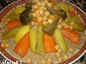 Couscous d'orge légumes