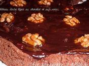 Gâteau (très) léger chocolat noix