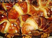 Croissants brioches