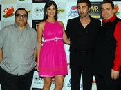 Katrina Ranbir lors première Ajab Prem Ghazab Kahani.