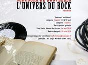 Affiche concours nouvelles ROCK 2009/2010