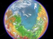 Découvrir Mars terraformée avec Google Earth