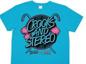 Crooks Castle Stereo Panda tee-shirt