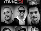 MUSIQUE Music'all Black Stamp
