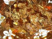 Steak boeuf mariné miel