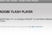 Adobe Flash Player arrivera Android 2010…