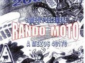 Rando moto Téléthon Moto Club Cauneille (40) décembre 2009