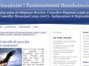 hoenheim nouveau blog, nouvelles voies
