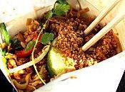 Manger thai dans boite...