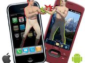 IPhone Androïd, retournement l'écosystème mobile
