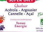 Quator Tonus Energie l'Açaï, Argousier, Cannelle Acérola