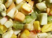 Jardinière sirupeuse fruits saison