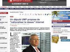 Jacques Myard veut nationaliser Internet