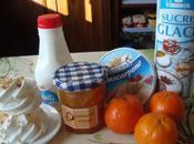 Bûche glacée mandarine