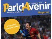 magazine Paridavenir mois janvier 2010