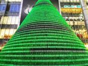 sapin Noël fait 1000 bouteilles bière