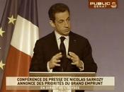 "Sarkozy ""grand emprunt d'excellence"""