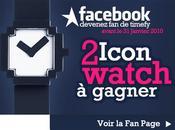 Nouveau mini contest Timefy avec Icon Watch gagner