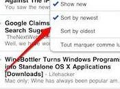 Google Reader mobile: nouvelles fonctionnalités, nouveau look