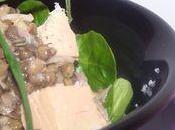 Salade lentilles l'An Neuf