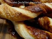 Torsades feuilletées chocolatées expérience très concluante pâte feuilletée rapide Philadelphia