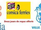 Corsica Ferries aide restos coeur..