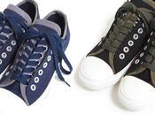 Comme garçons homme spring 2010 canvas sneakers