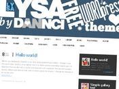 Thème WordPress Lysa