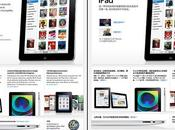 site d'Apple pour l'iPad identique sauf