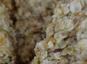 Flapjacks noix, noisettes, pistaches, abricots secs.
