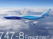 Boeing lance 747-8 Jumbo