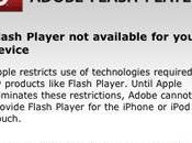 Adobe utilisateurs veulent Flash iPhone