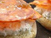 Muffins anglais feta-chorizo