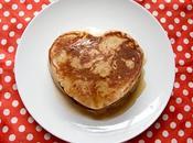 Pancakes pour Valentin