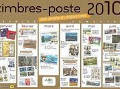 Timbres France 2010
