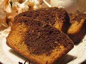Gâteau marbré patates douces