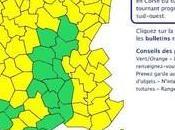 Météo-France maintien vigilance orange pour Corse jusqu'à 22h. Haute-Corse l'est plus