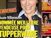 Suzie Villeneuve meilleure vendeuse ``TUPPERWARE`` Amérique Nord!