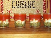 vérines tomate-chèvre-haricot