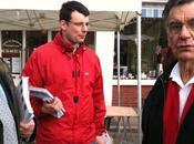 Marché Louviers gauche unie fait campagne.