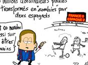 France Espagne, football, piratage informatique test nuisance