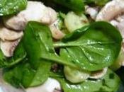 Salade d'épinards plaisir gourmand mars