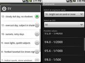 Application Photometric pour Android